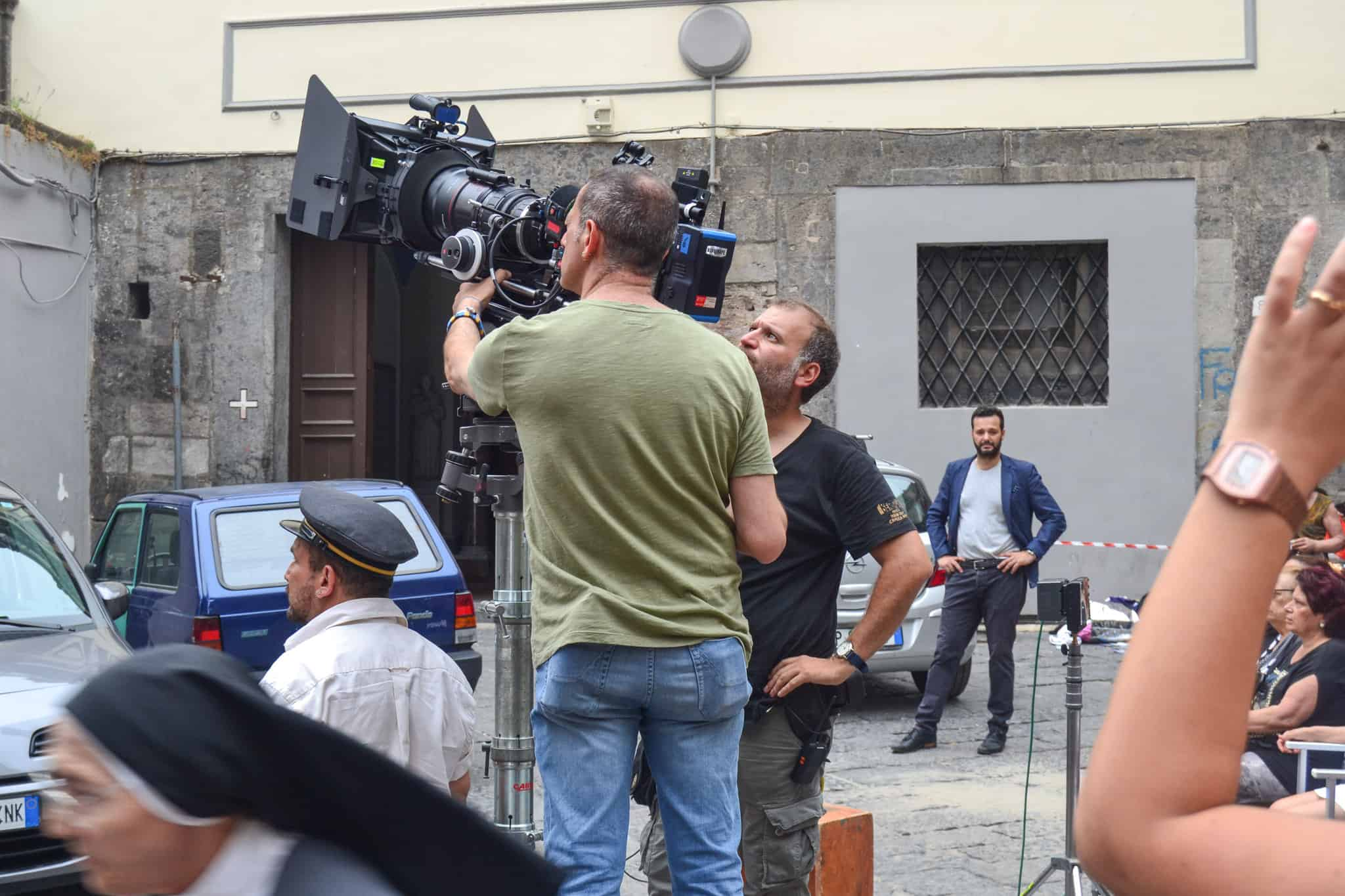 Sul Set con Vincenzo Salemme