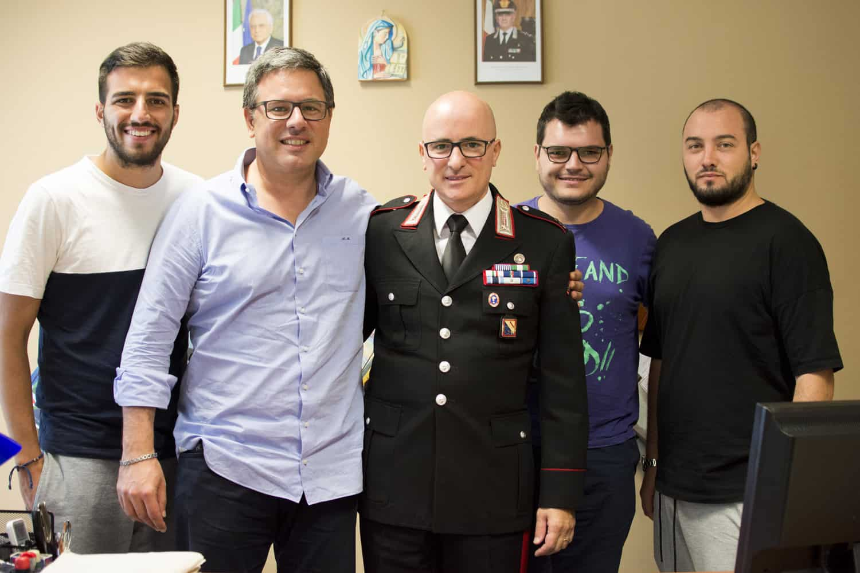 Da sx: Fabio Corsaro, Angelo Morlando, Luigi Passero, Gabriele Arenare e Carmine Colurcio - Photo credit Francesco Catalano