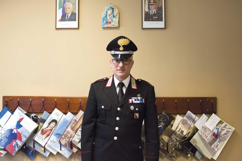 Maresciallo Capo Luigi Passero - Photo credit Francesco Catalano