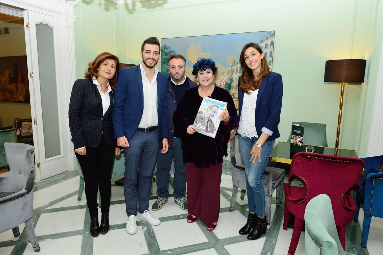 da sx: Ilaria Rita Motti, Fabio Corsaro, Marisa Laurito e Rossella Bicco - Photo credit Antonio Ocone