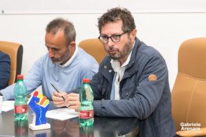 """Francesco Emilio Borrelli presentazione """"Senso di Marcia"""" - Photo credit Gabriele Arenare"""
