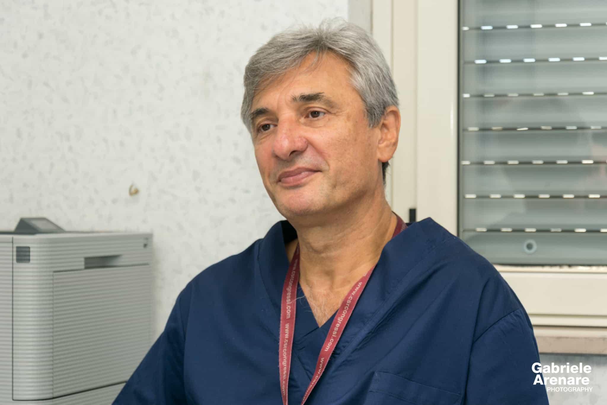 Il dott. Alfredo Bucciero durante l'intervista - Photo credit Gabriele Arenare