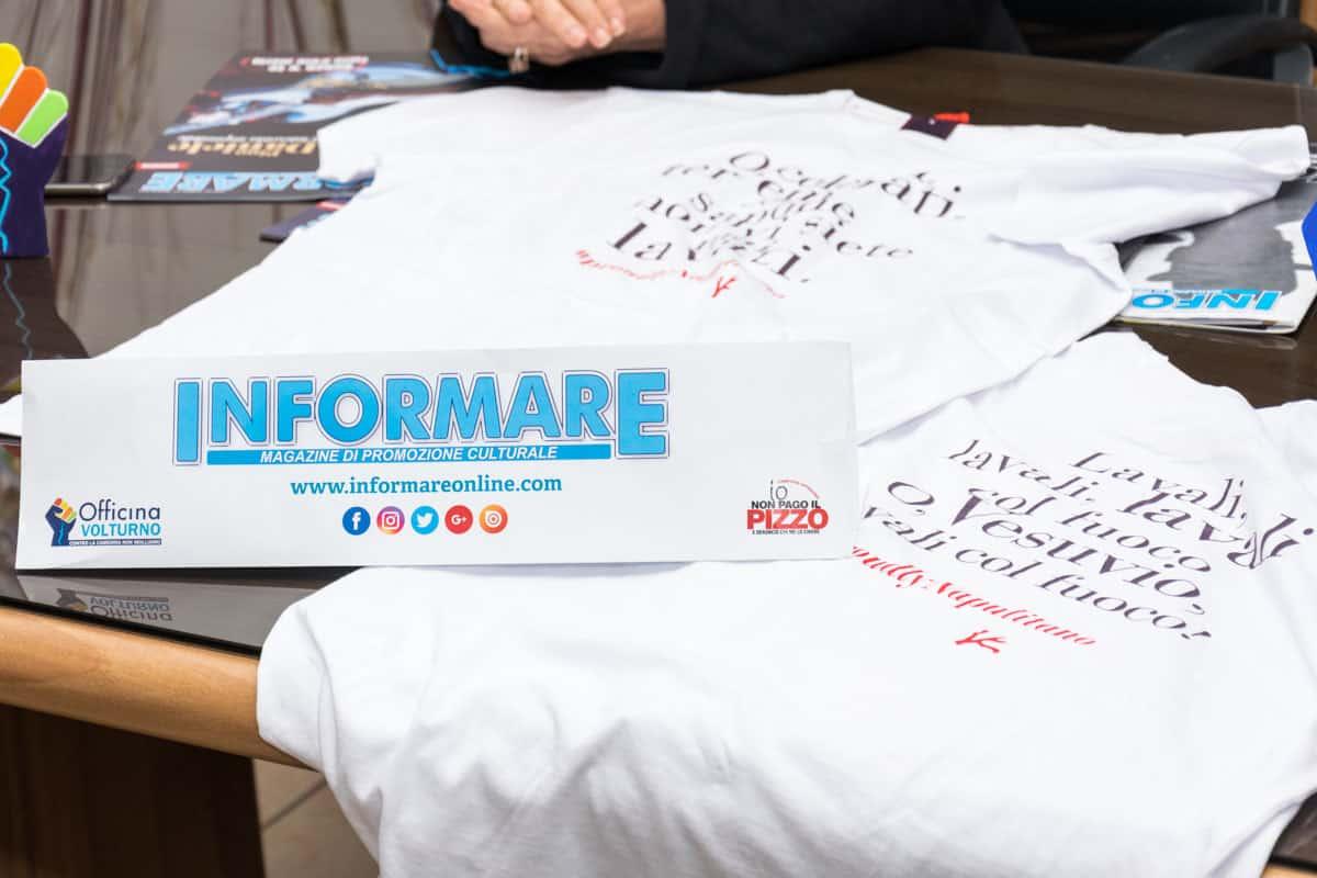 Le magliette ideate da Isaia #ProudlyNeapolitan - Photo credit Gabriele Arenare