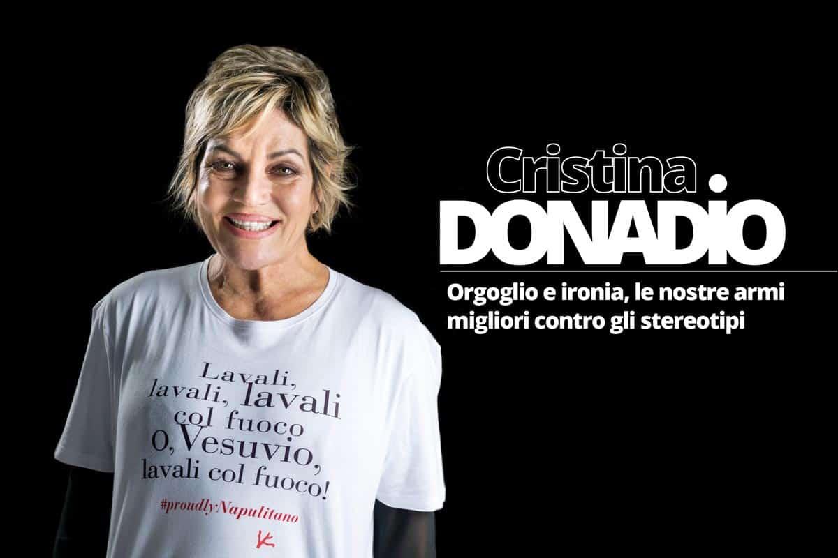 Cristina Donadio COPERTINA del Magazine Informare Febbraio 2018 - Photo credit Gabriele Arenare