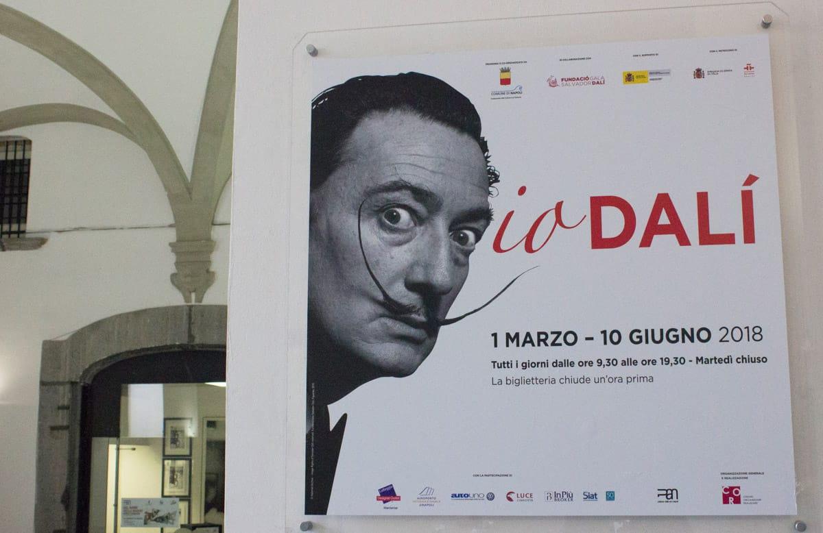 """Mostra """"Io Dalì"""" al PAN - Photo credit Maria Grazia Scrima"""