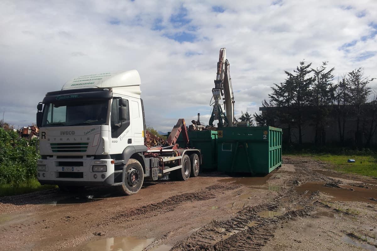 So.Ge.Ri., rimozione carico e trasporto dei RAEE