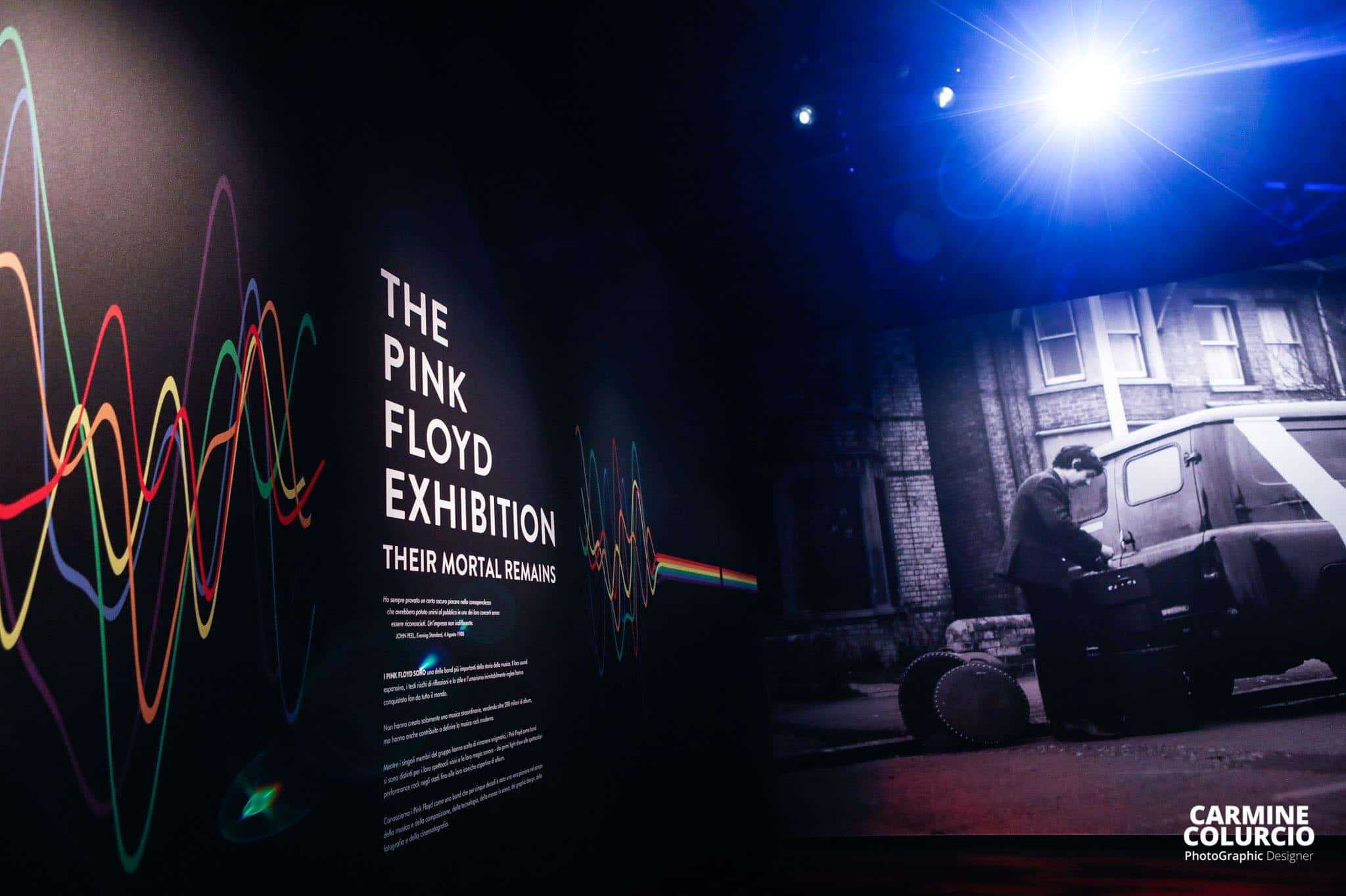 Pink Floyd Exhibition - Photo credit Carmine Colurcio
