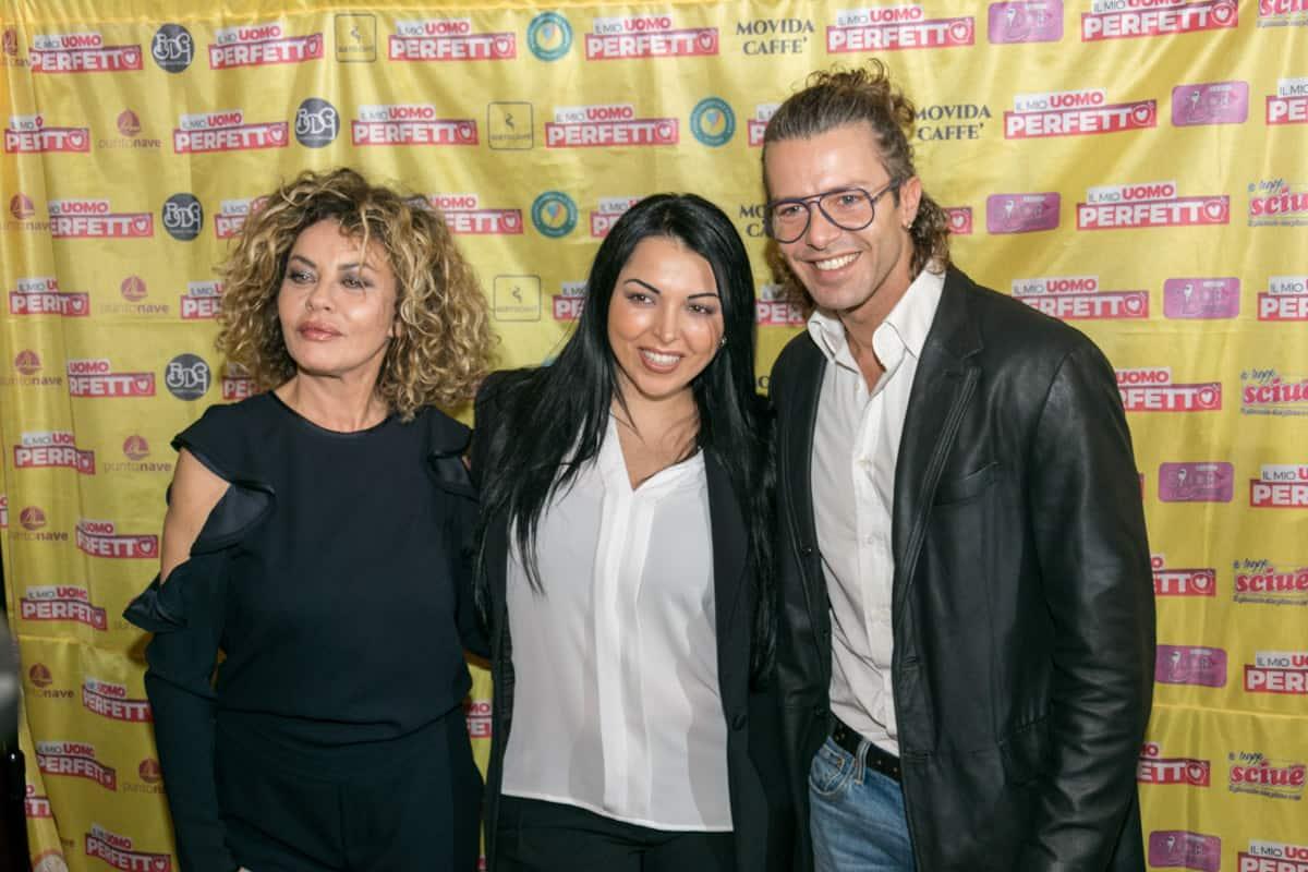 """Eva Grimaldi, Nancy Coppola e Francesco Testi de """"Il mio uomo perfetto"""" - Photo Credit Gabriele Arenare"""