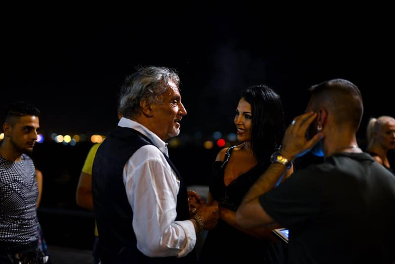 Andrea Roncato e Nancy Coppola