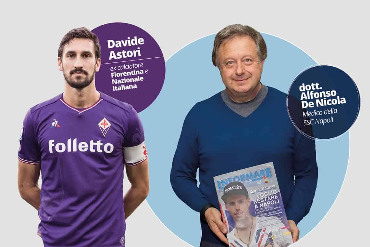Davide Astori e Alfonso De Nicola