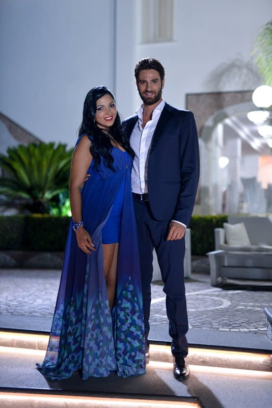 Nancy Coppola e Antonio Palmese