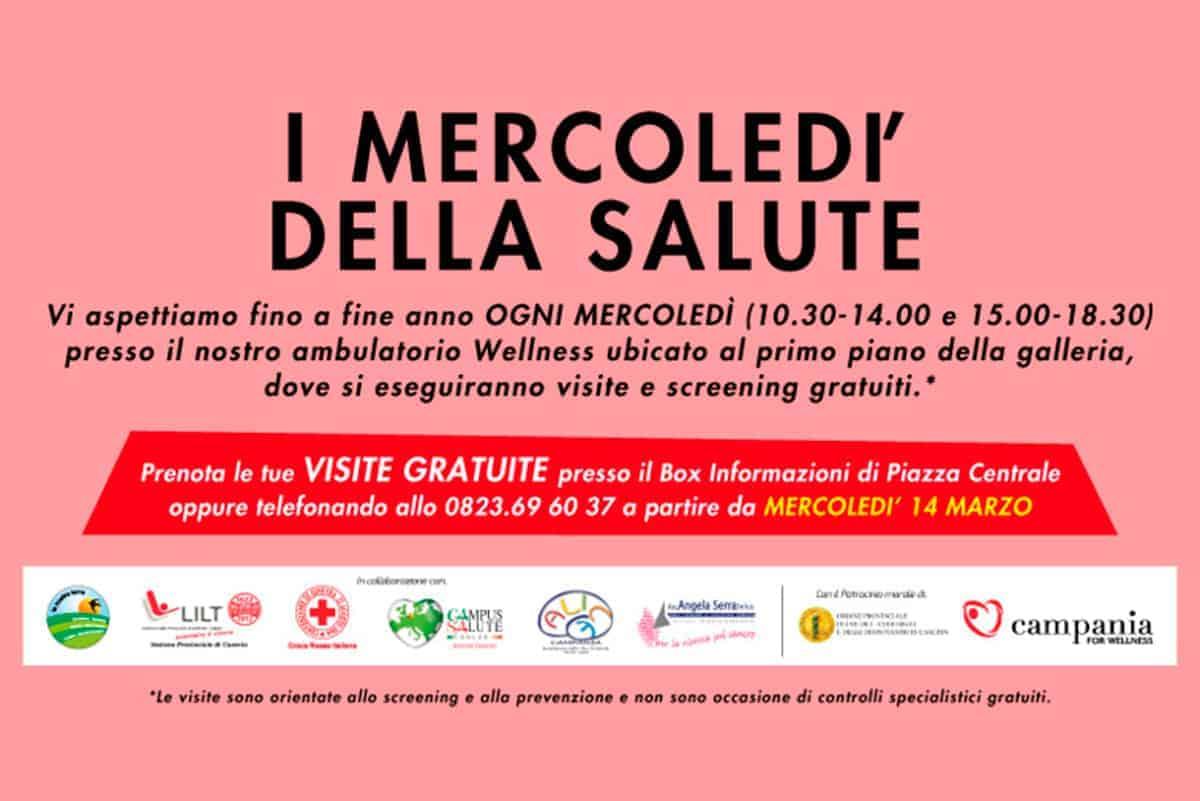 I mercoledì della salute al Centro Commerciale Campania