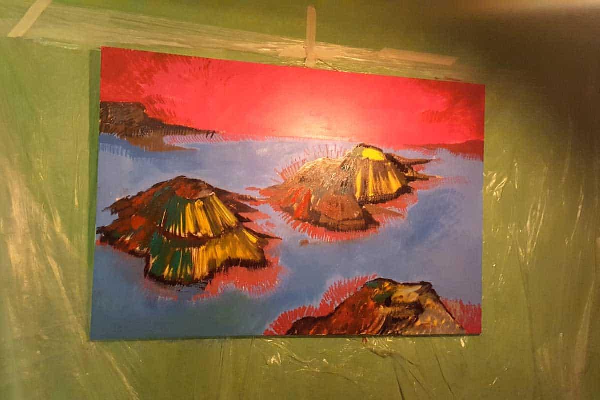 """Caserta, """"Circus - Live Painting Exhibition"""" con Domenico Napolitano"""