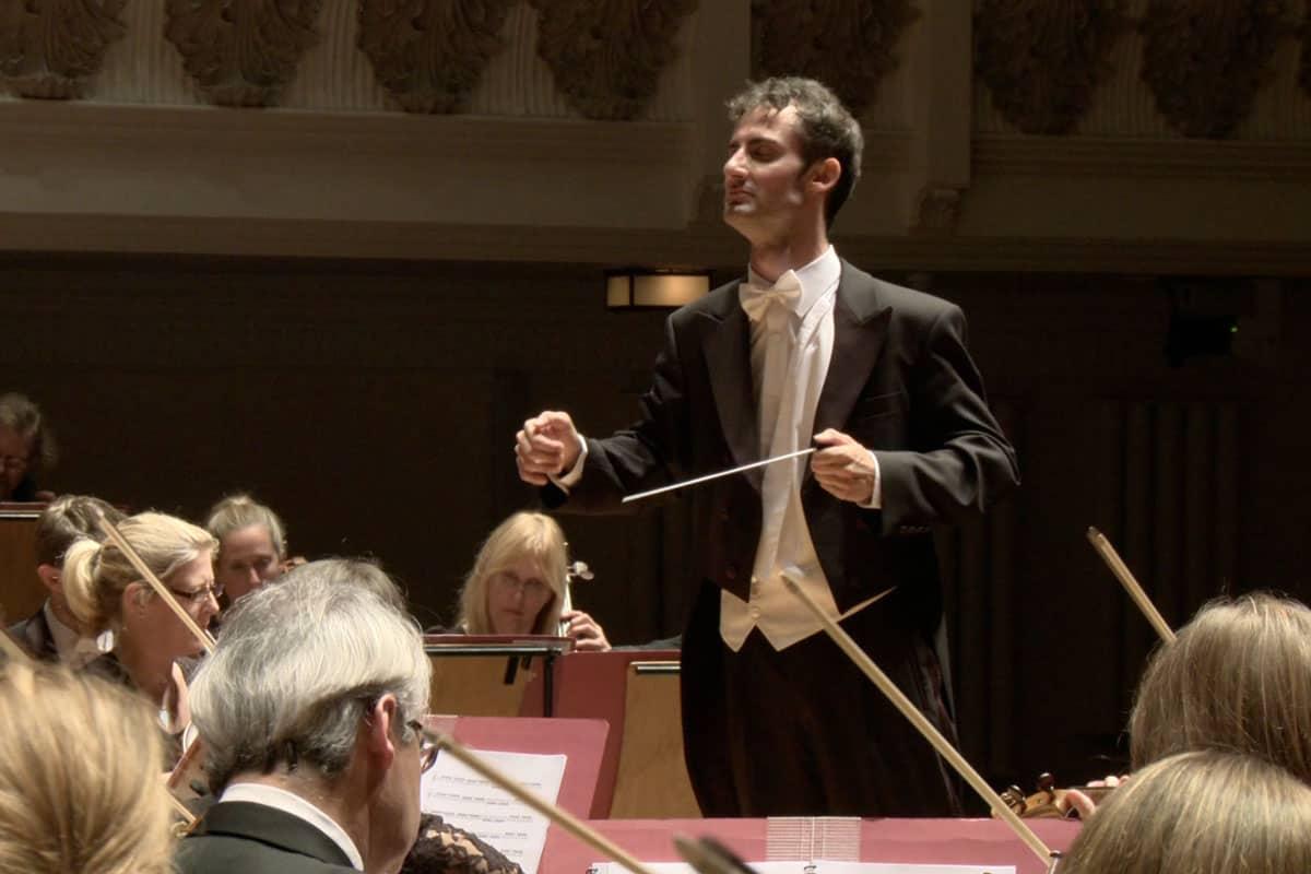 Alessandro Valtulini alla Philharmonia Orchestra di Londra