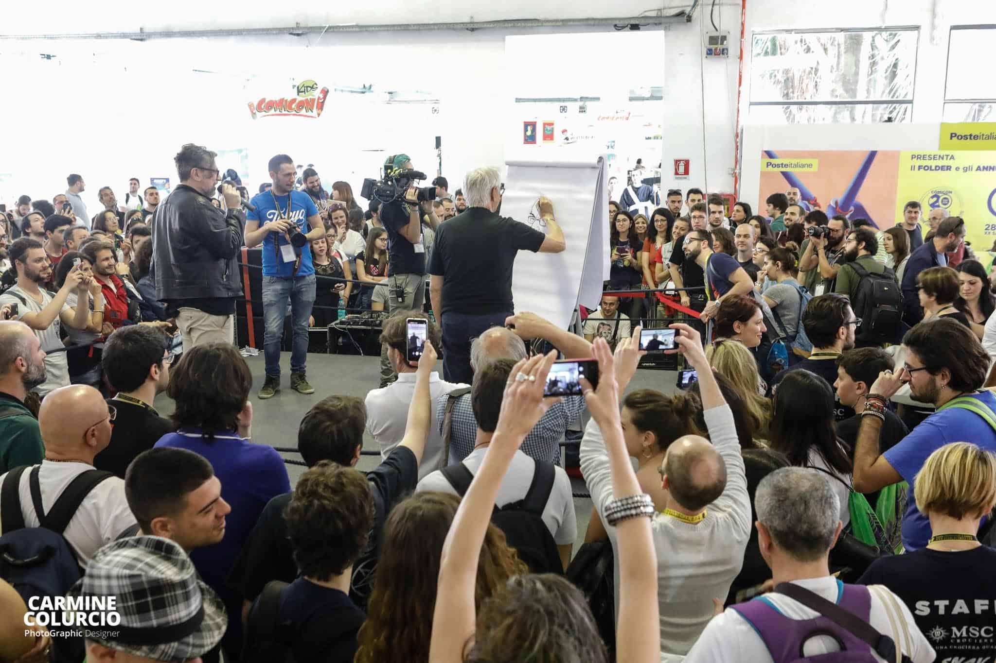 Milo Manara al Comicon Napoli 2018