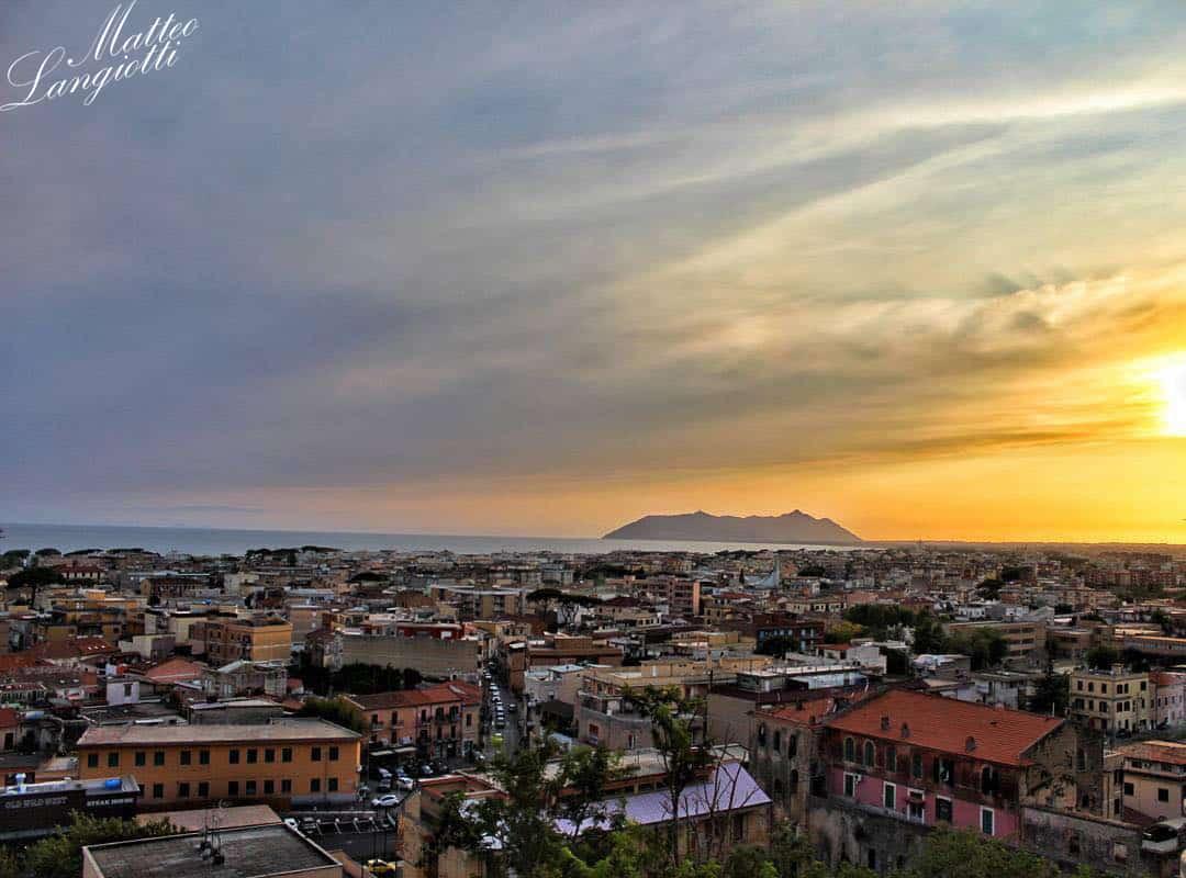 Terracina dal centro storico   - Photo credit Matteo Langiotti