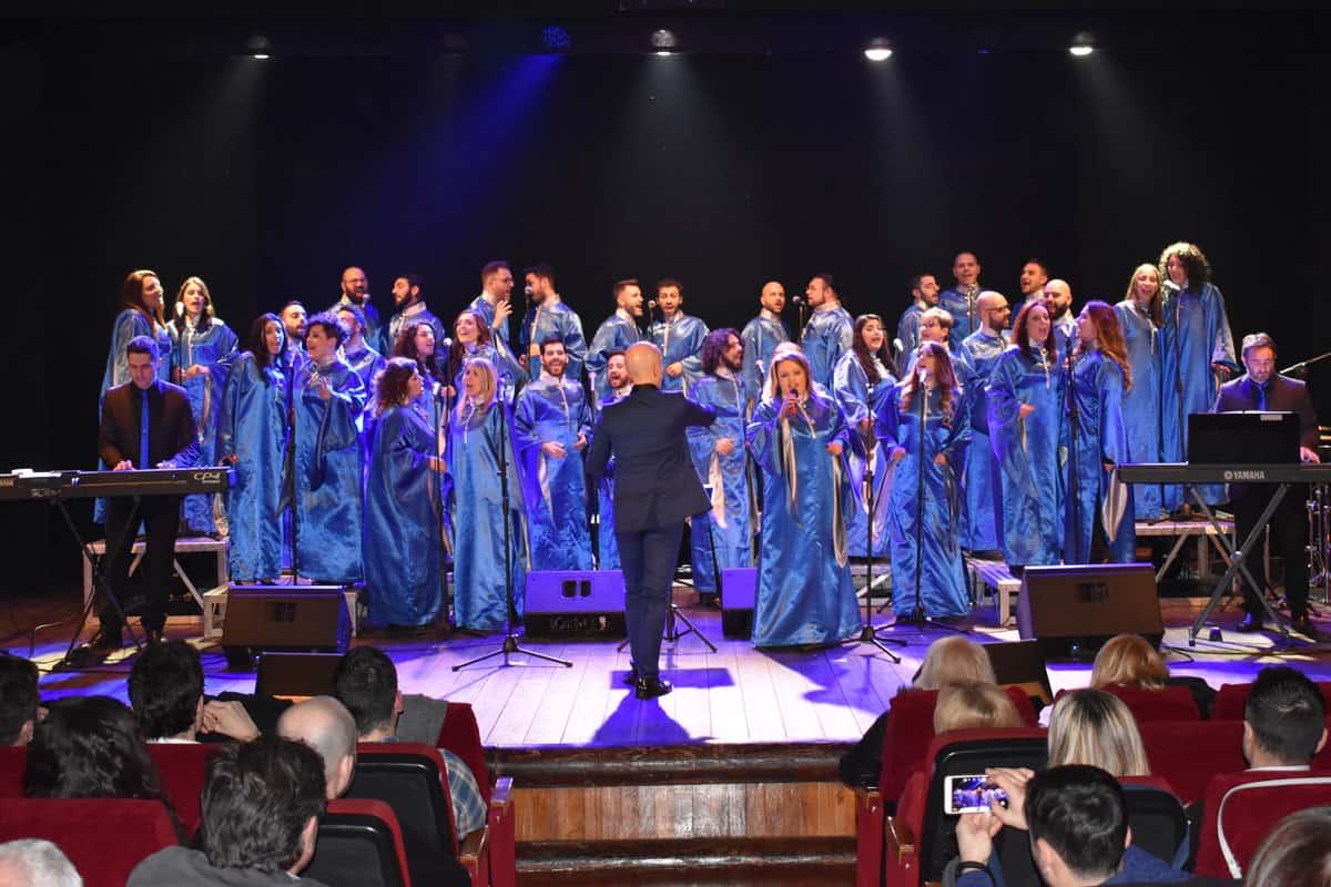 The Blue Gospel Singer