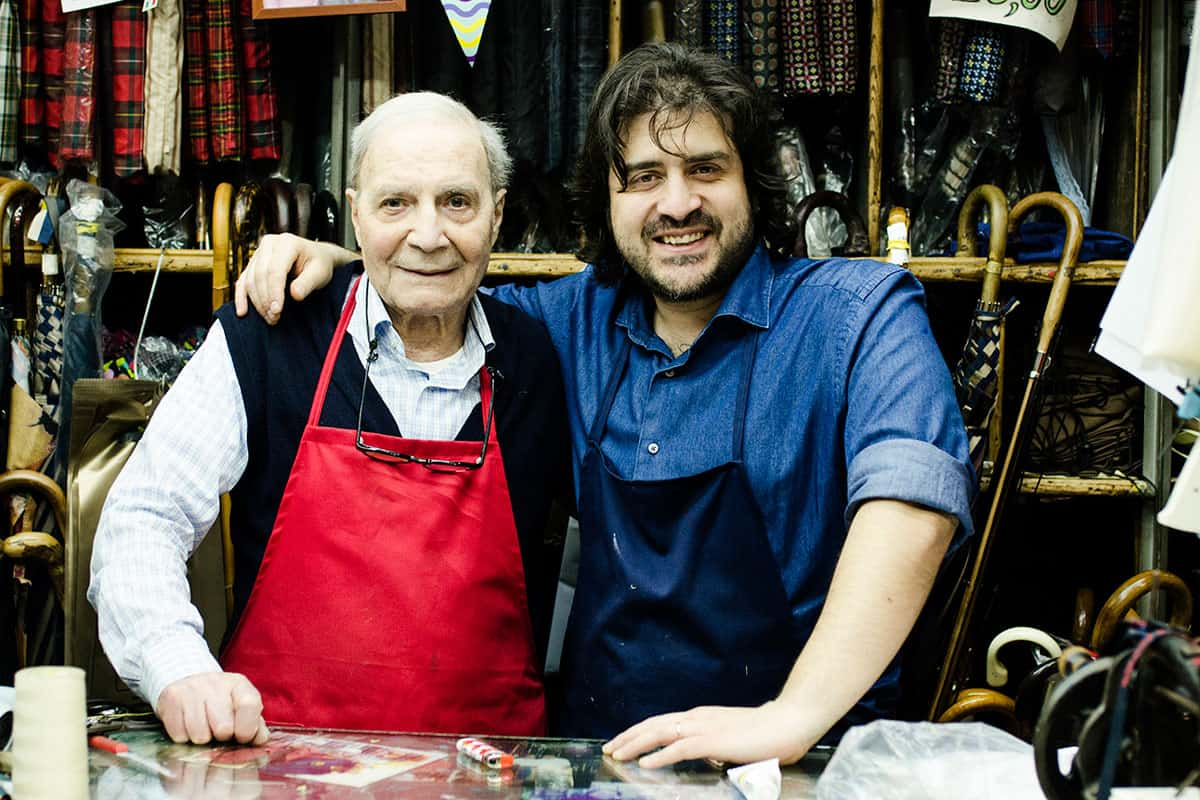 Mario Talarico e suo nipote Mario Jr - Photo credit Federica Lamagra