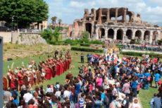 Anfiteatro Campano: in scena la II Guerra Punica