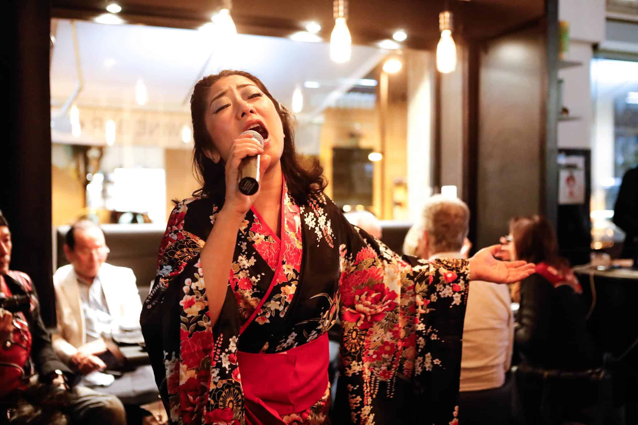 Junko Kato al 121 Sushi n' Bar