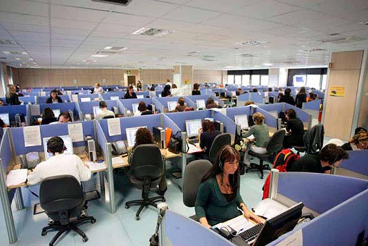 Uffici del call cente Comdata