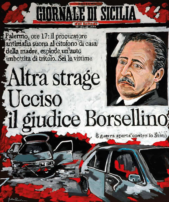 Borsellino di Gaetano Porcasi