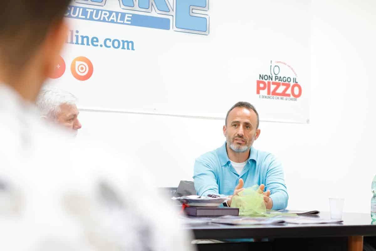 Paolo Chiariello - Alternanza Scuola Lavoro Liceo ISIS di Castel Volturno - Photo credit Gabriele Arenare