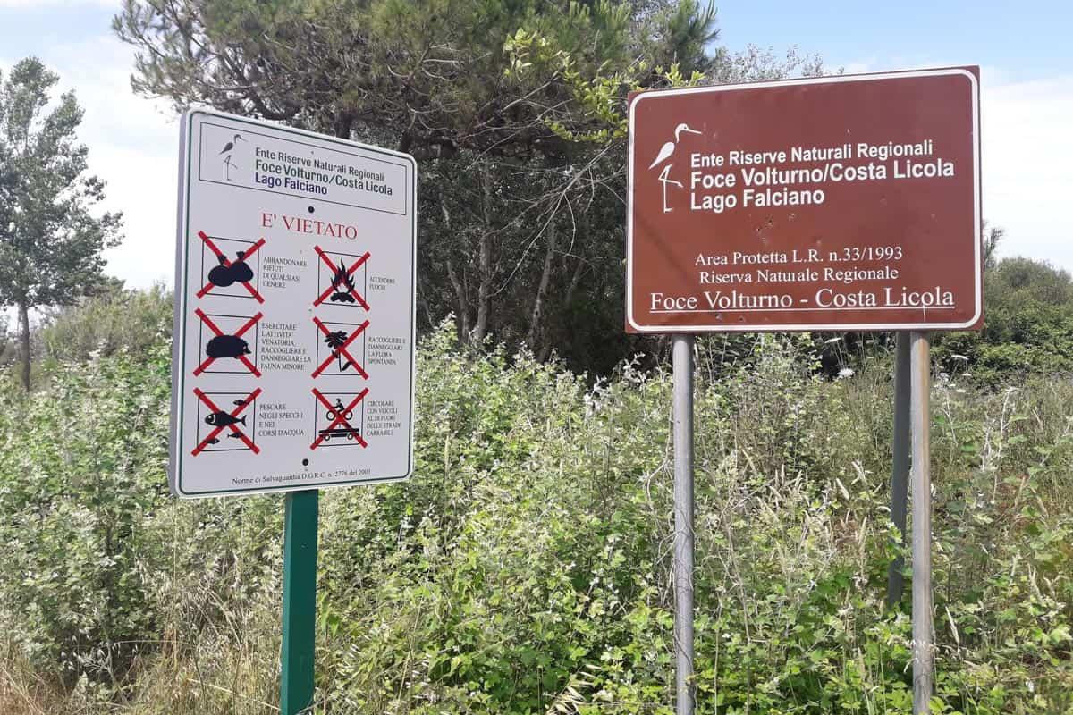 Degrado al Ente Riserve Naturali Regionali