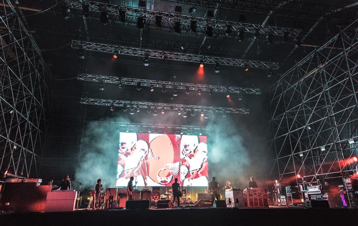 Noel Ghallagher a Napoli -Photo credit Fabiana Privitera
