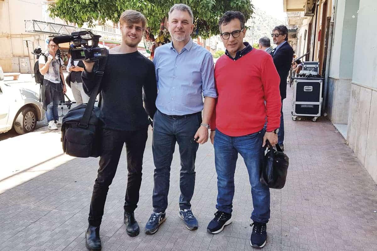 Antonio Casaccio, Lirio Abbate e Gaetano Porcasi
