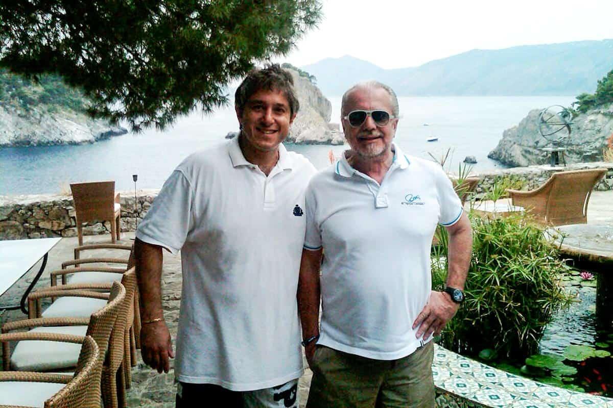Antonio Giordano e Aurelio De Laurentiis