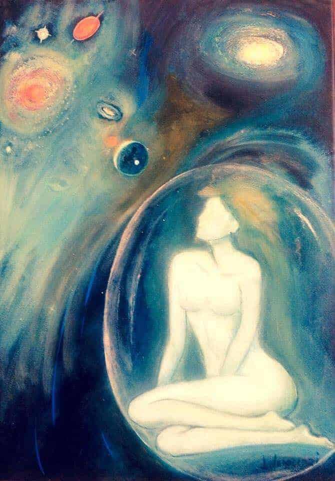 Donne nel cosmo di Lea Innocenzi