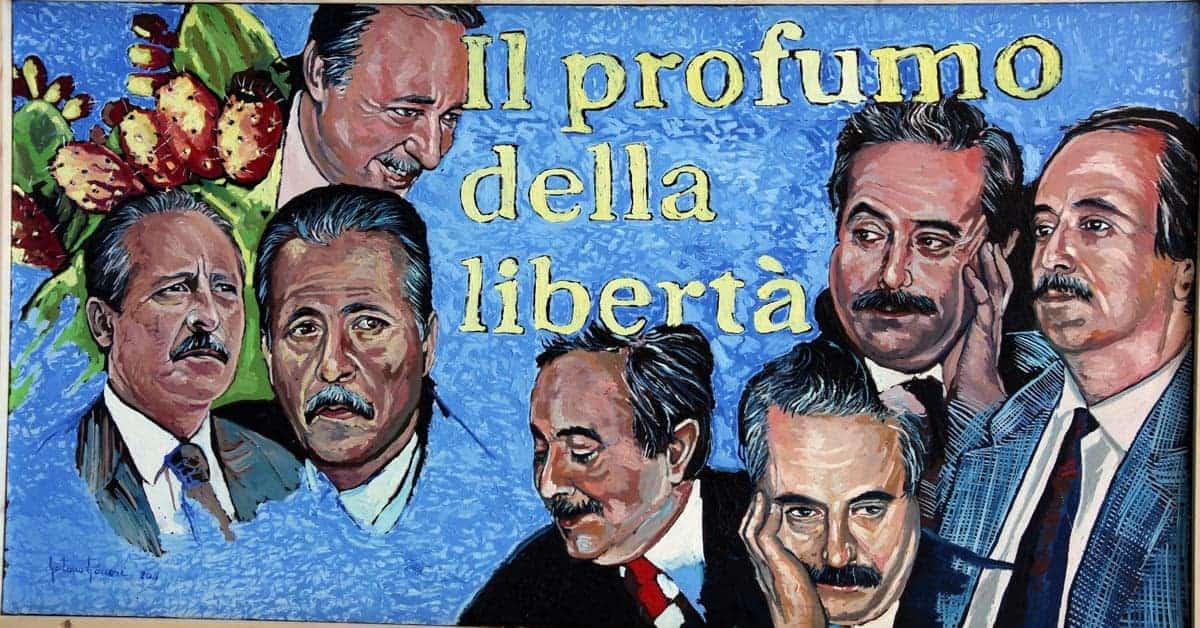 Falcone e Borsellino di Gaetano Porcasi