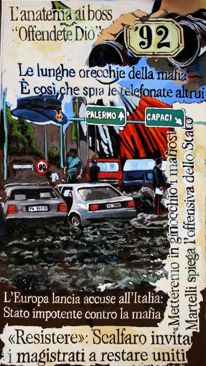 Strage di Capace del '92 di Gaetano Porcasi