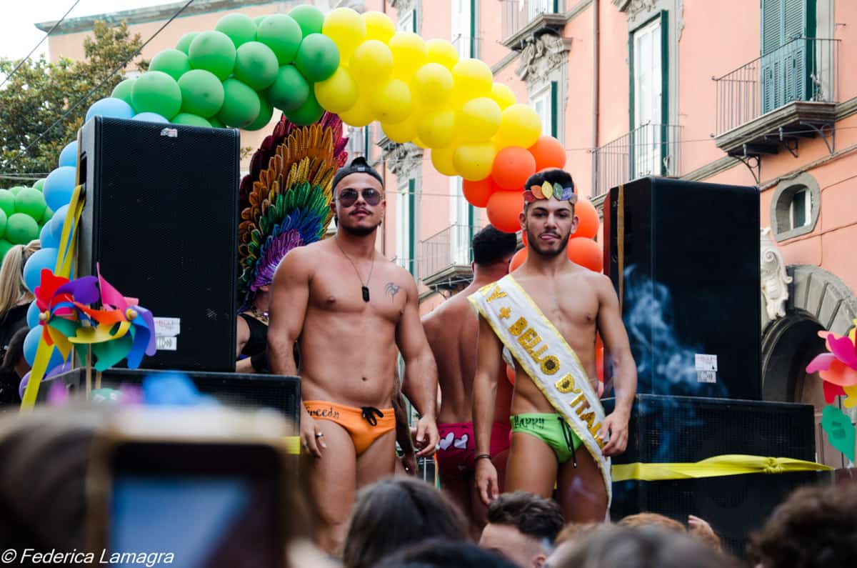 Gay pride 2018 Napoli -Photo credit Federica Lamagra