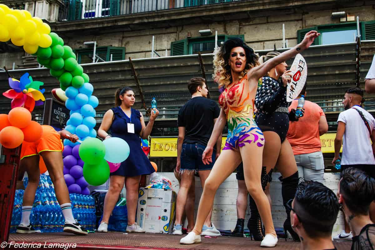 Gay pride 2018 Napoli -Photo credit Federica LamagraGay pride 2018 Napoli -Photo credit Federica Lamagra