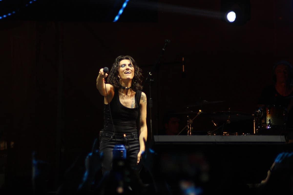 Elisa live per Happy Togheter @ Napoli. Foto di Francesco Russo