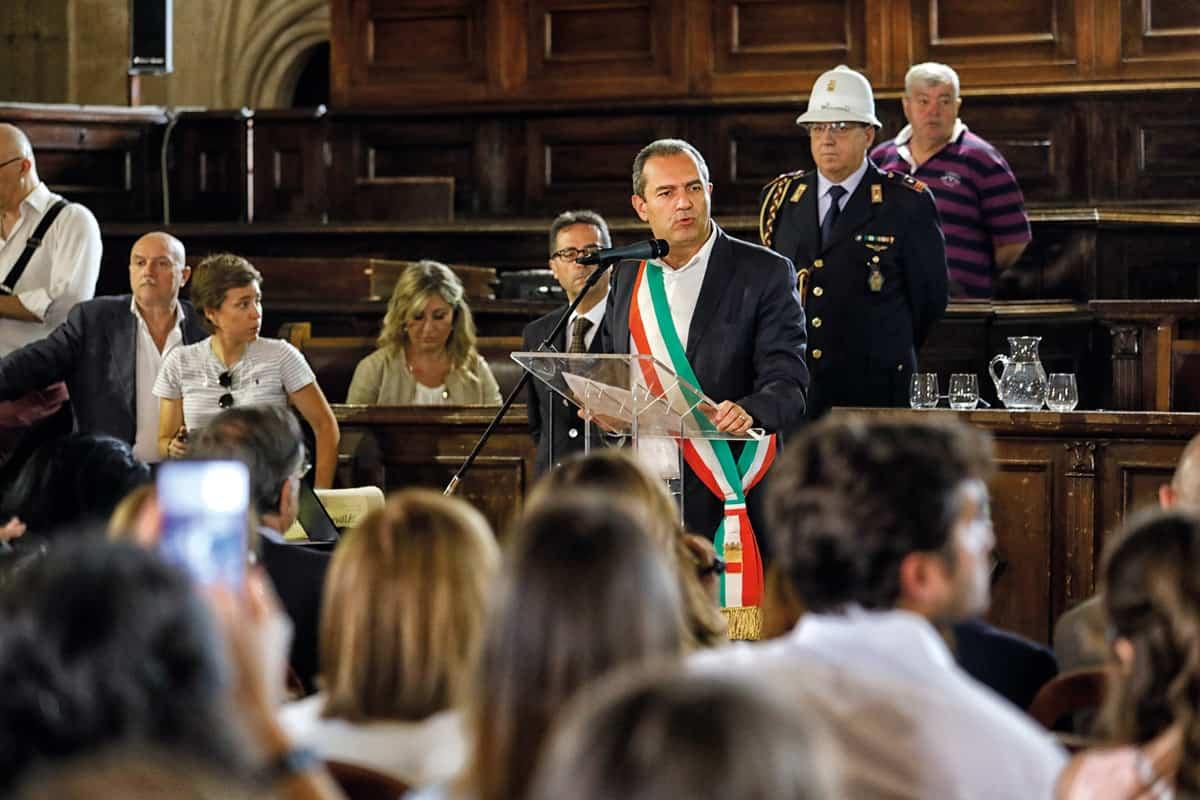 Luigi de Magistris - Cittadinanza onoraria di Napoli ad Alberto Angela - Photo credit Carmine Colurcio