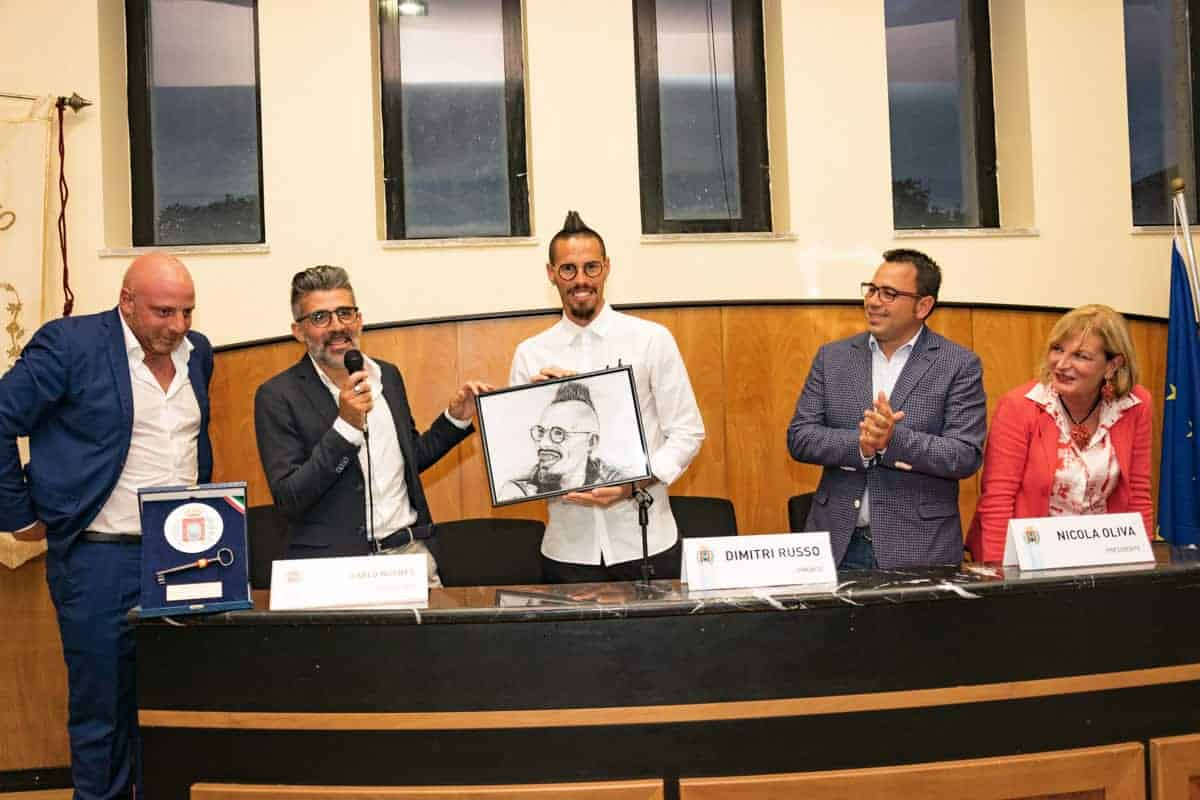Cittadinanza onoraria di Castel Volturno a Marek Hamsik - Photo credit Gabriele Arenare