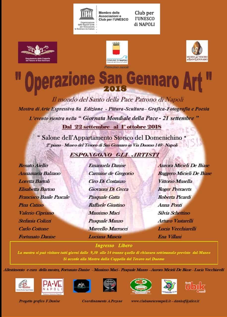 San Gennaro art 2018 informare online
