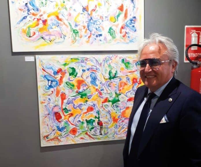 Mattia Fiore,una delle personalità artistiche più rappresentative del nostro tempo e già membrodell'AccademiaInternazionale d'Arte Moderna di Roma.