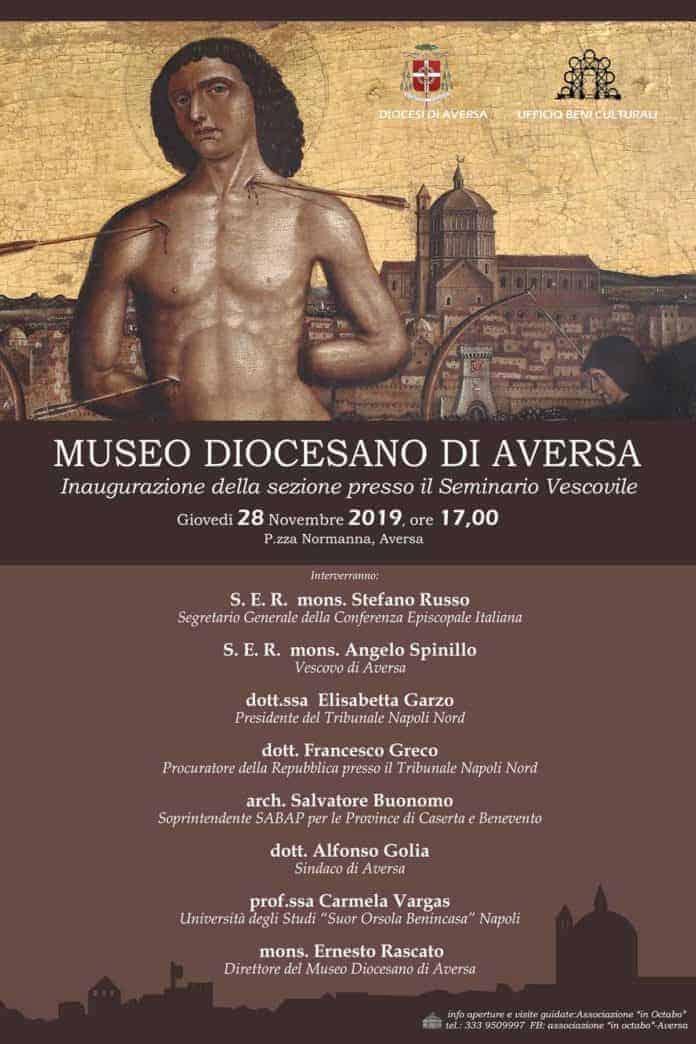 informareonline-naugurazione-Museo-Diocesano-Aversa-Locandina