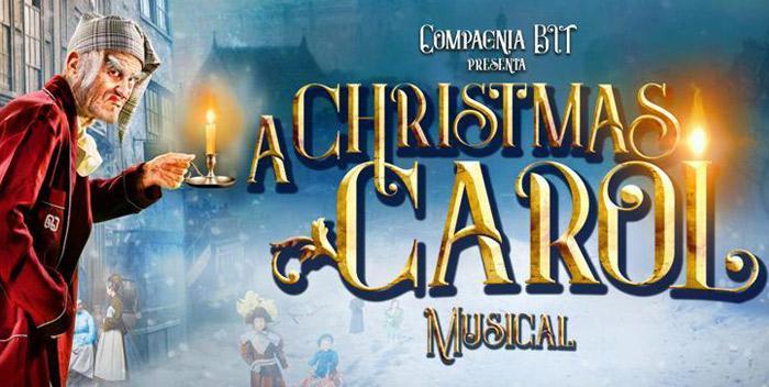Risultati immagini per christmas carol musical