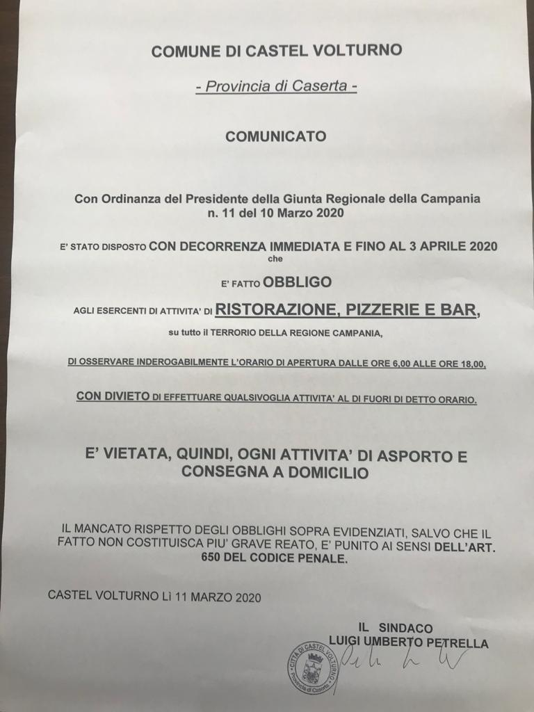 Informareonlne-castel-volturno-ordinanza