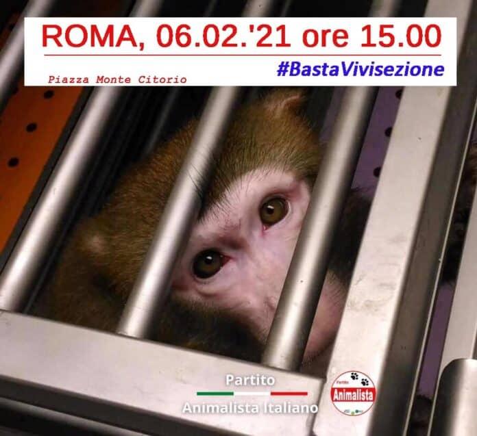 informareonline-manifestazione-basta-vivisezione