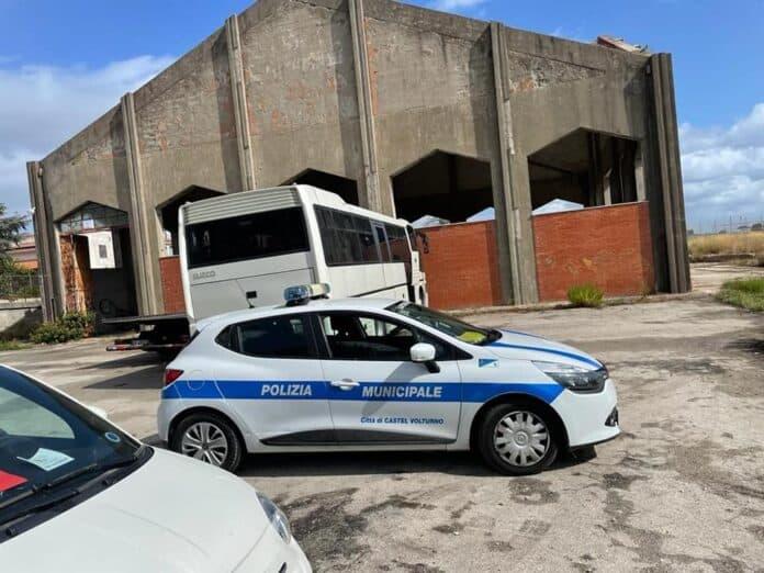 Informareonline-castel-volturno-sgomberata-area-del-consorzio-di-bonifica-occupata-illegalmente